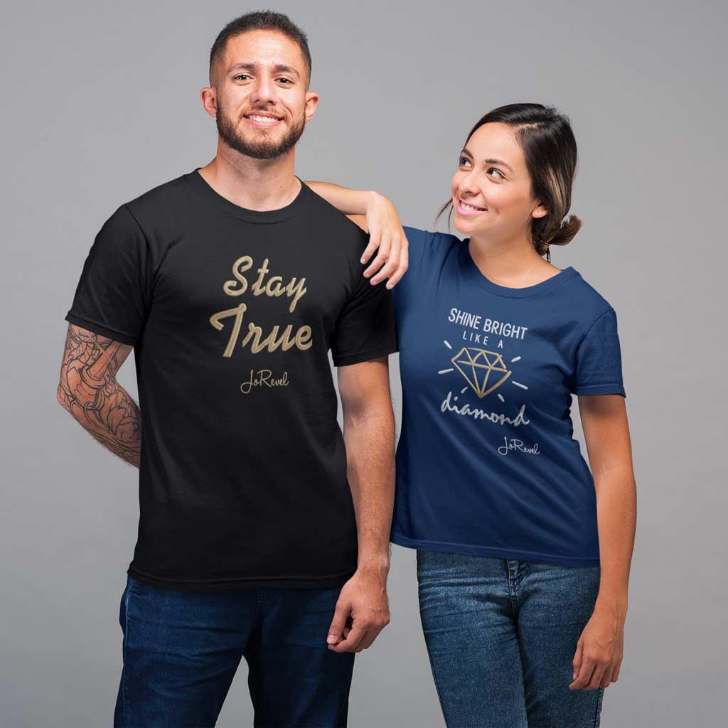 T-Skjorte med Logo Profilklær JoRevel