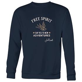 Genser med Logo Brodert Free Spirit