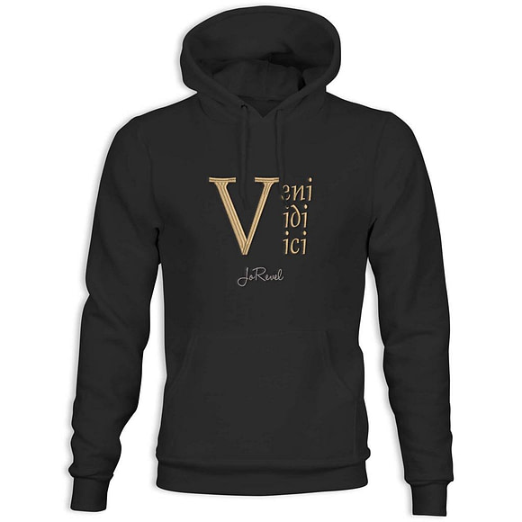 Hettegenser med Logo Veni Vidi Vici JoRevel
