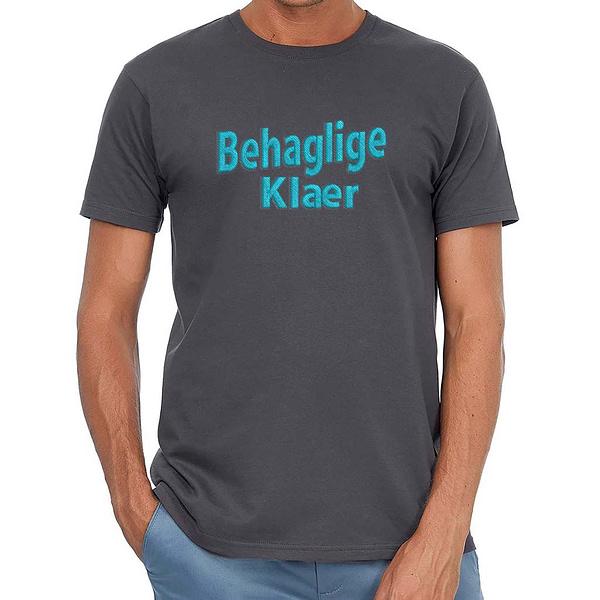 T-Skjorte med Logo Brodert