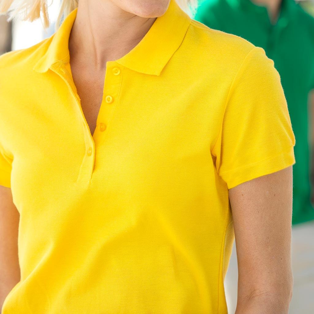 Polo Skjorte Dame Profilkær