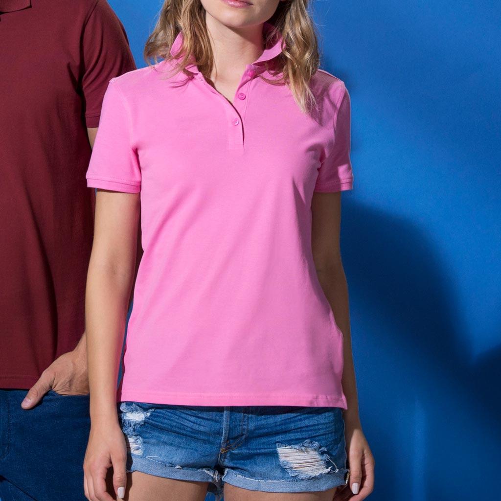 Polo Shirt Dame Profilklær med Logo