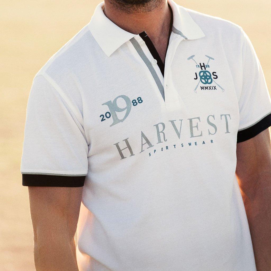 Harvest Polo Shirt med Logo Brodering