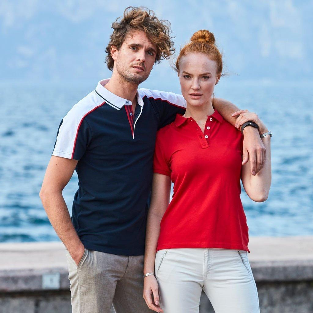 Polo Shirt Profilklær med Brodert Logo