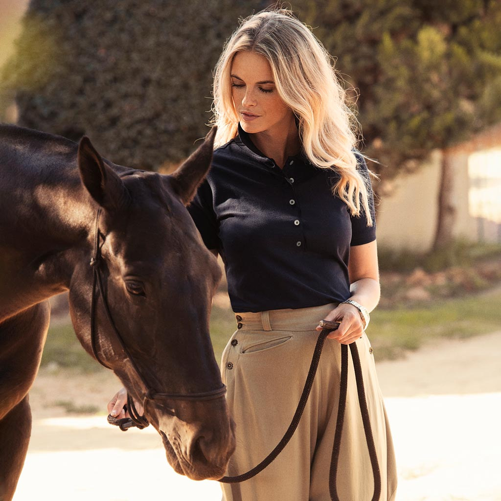 Harvest Polo Shirt Dame Profilklær med Logo Brodering