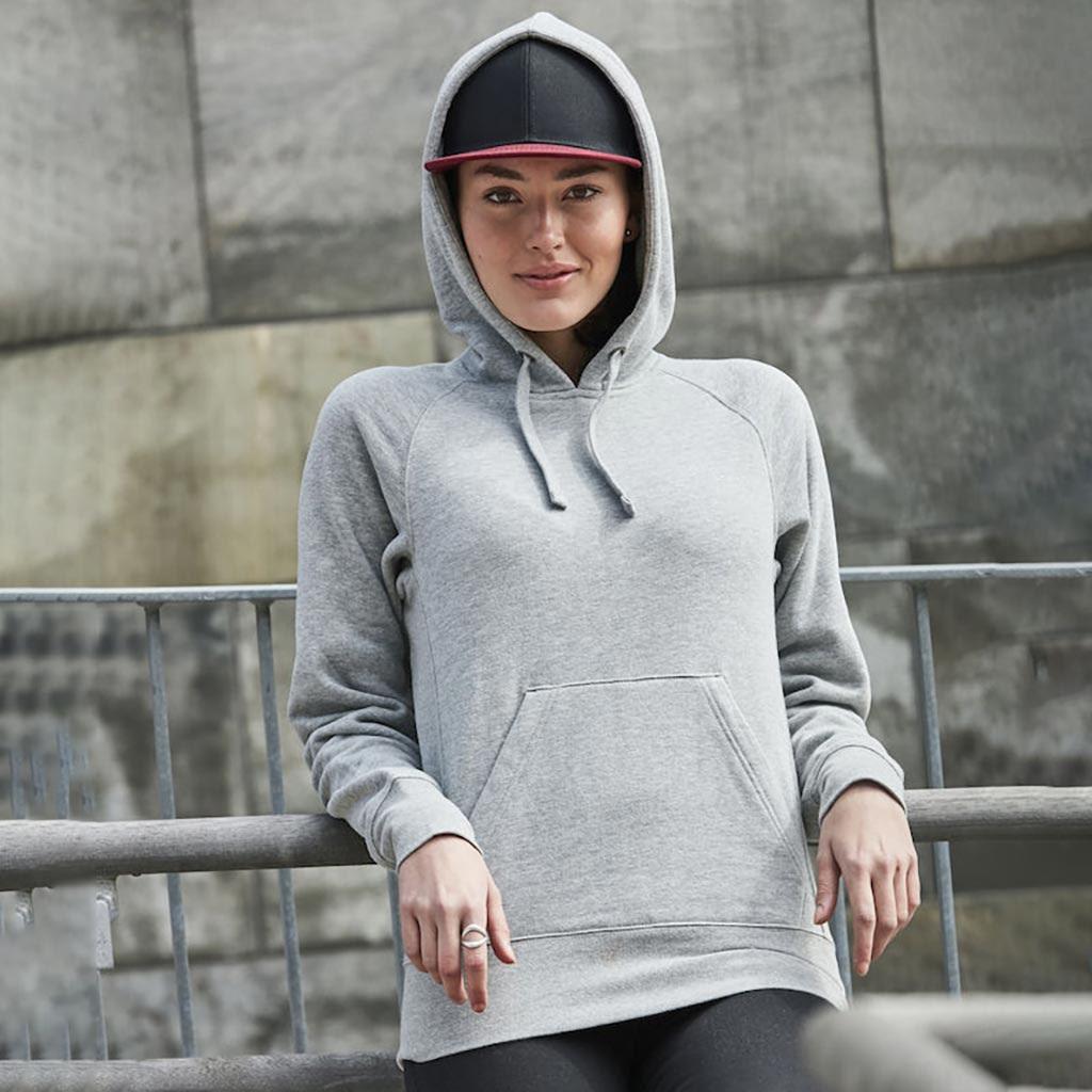 Hoodie Hettegenser Dame Profilklær Logotextil