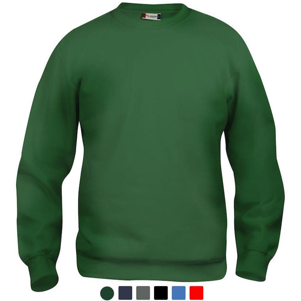 Profilklær Rund Hals Crewneck Genser Sweatshirt