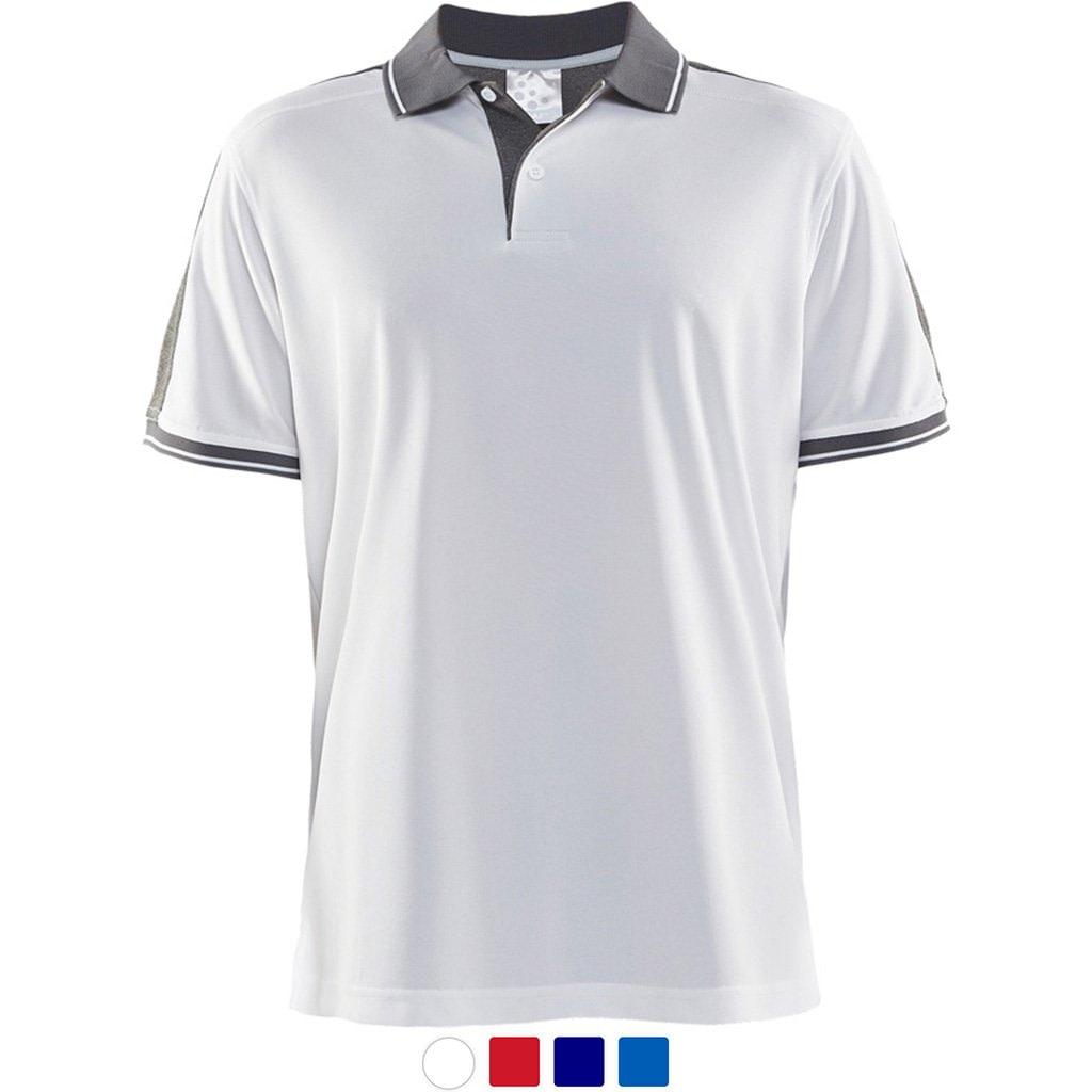 Profilklær Craft Polo Shirt Logo Brodering