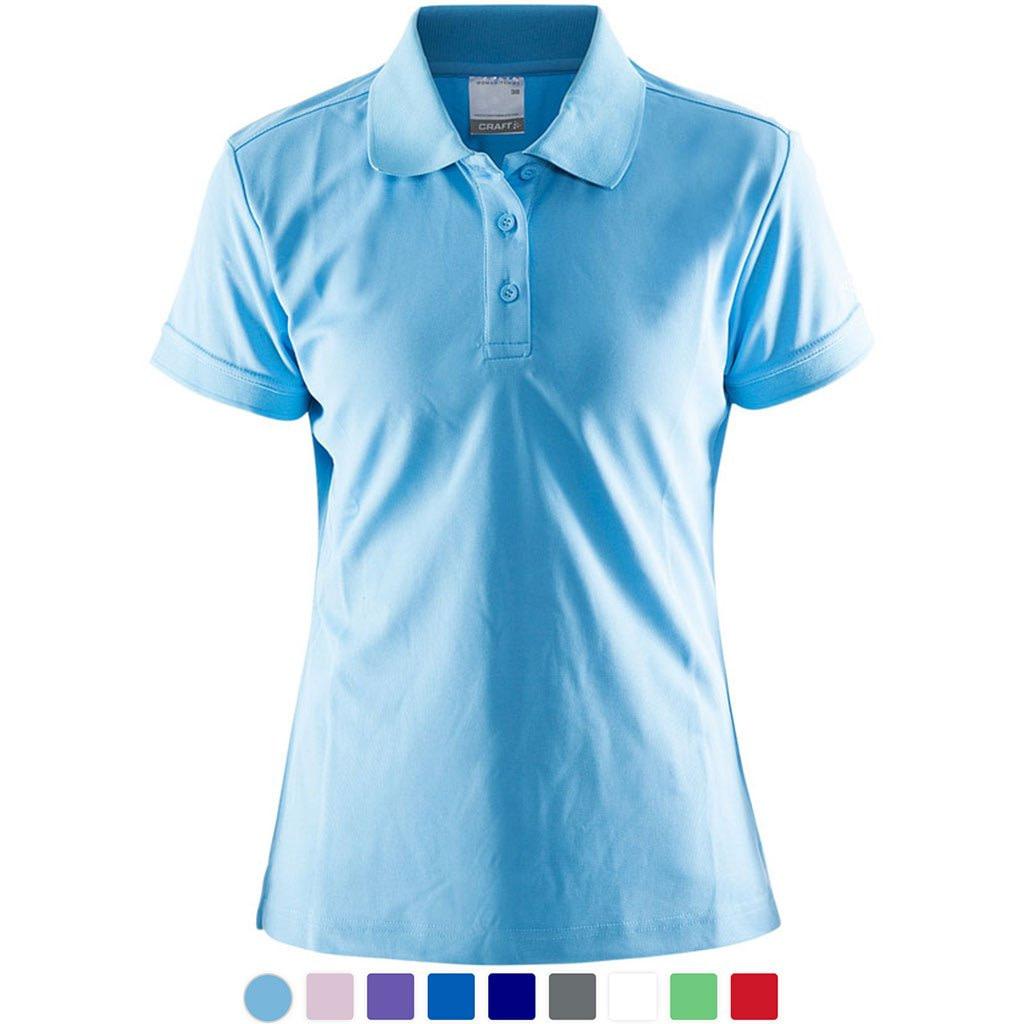 Polo Shirt Dame Craft Profilklær med Logo