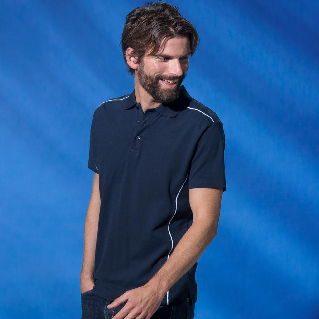 Polo Shirt med Logo Profilklær Logotextil