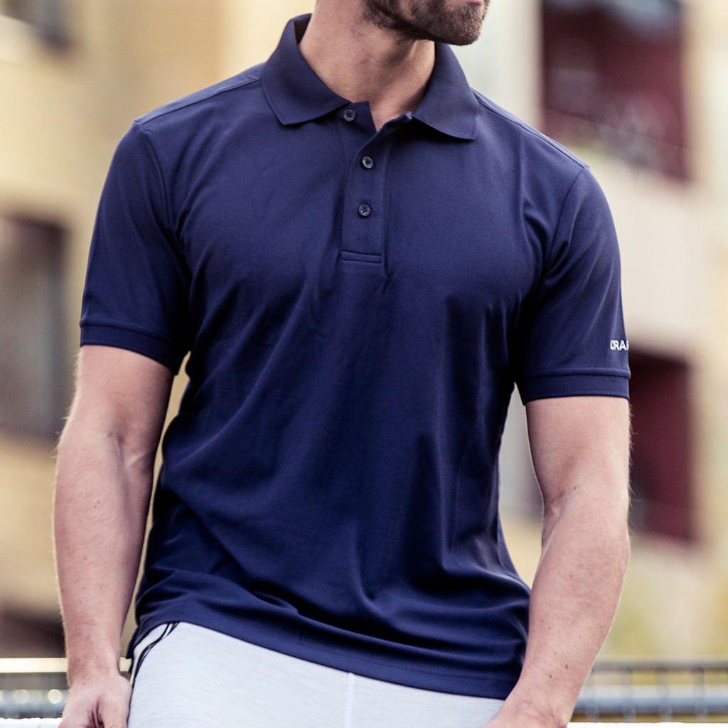 Craft Profilklær Polo Shirt med Logo Brodering