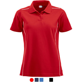 Polo Shirt Dame Profilklær Logo Brodering