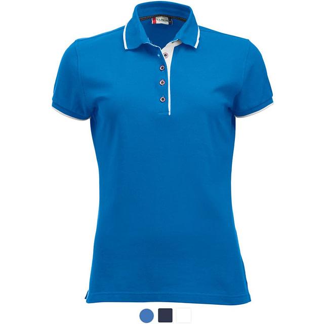 Profilklær Polo Shirt Dame Logo Brodering