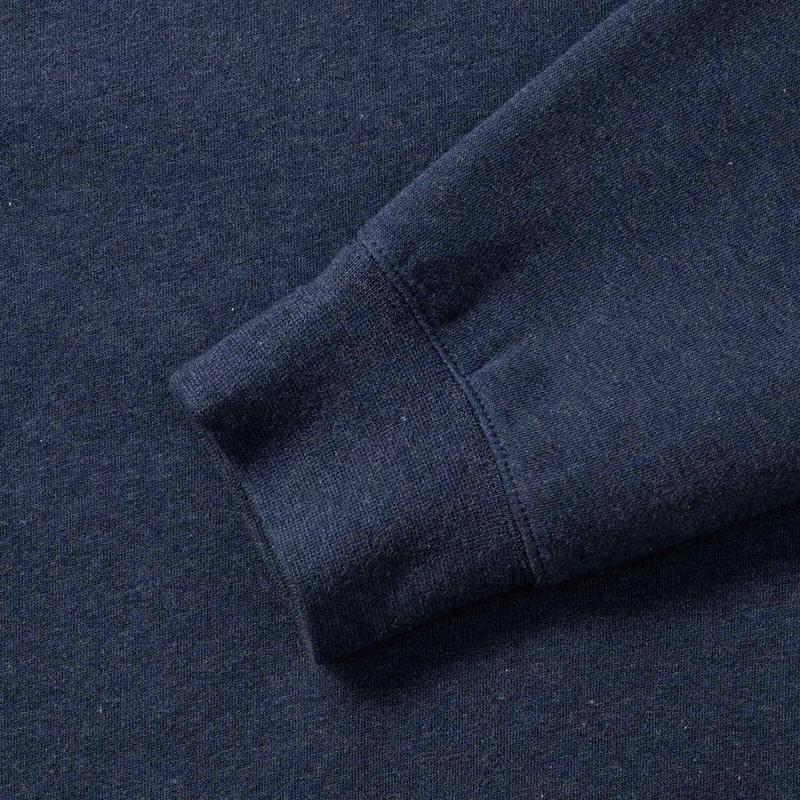 Ermer Detail Genser Melange Sweatshirt Profilklær