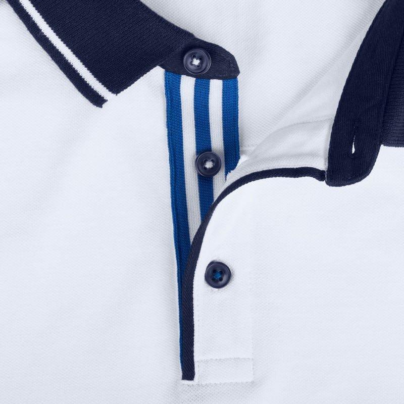 Polo Shirt Krage Kotrastfarge