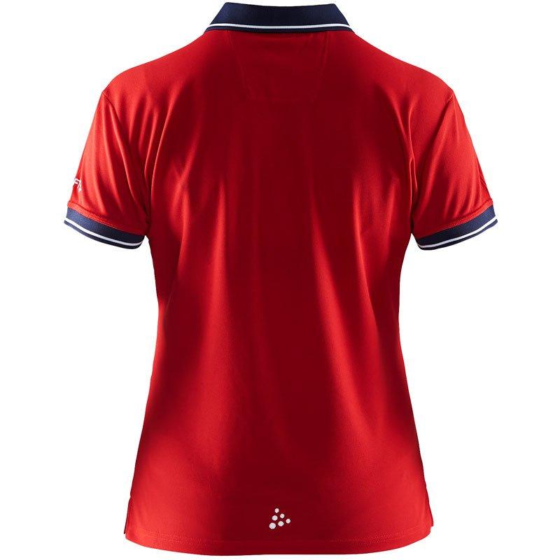 Polo Shirt Dame Bak Profilklær med Logo