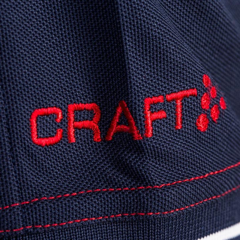 Profilklær Craft Polo Shirt med Logo Brodering