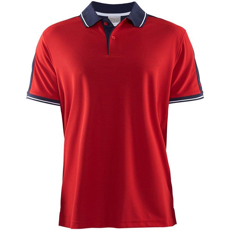Craft Profilklær Polo Shirt med Brodert Logo
