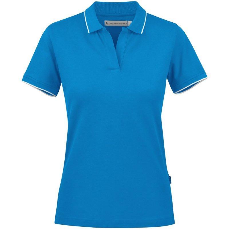 Polo Shirt Dame Profilklær med Logo Brodering