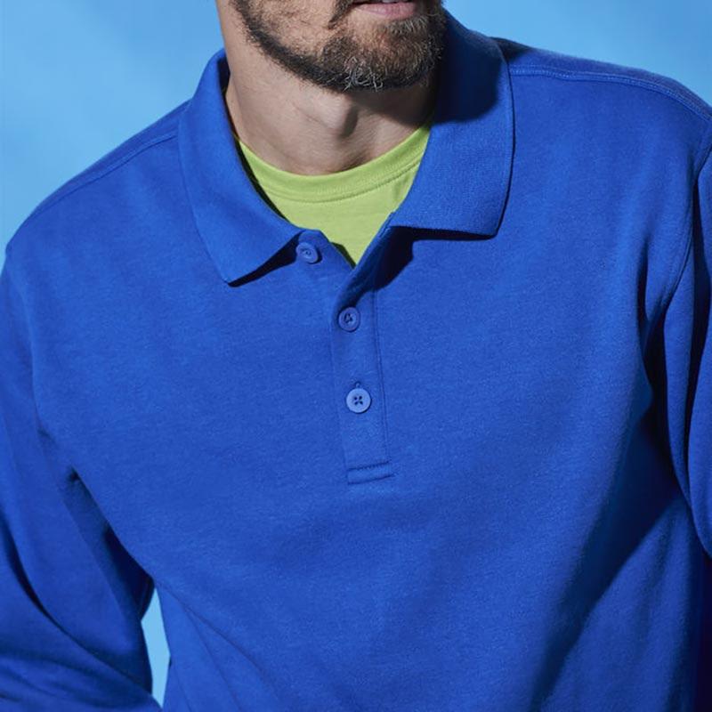 Polo Genser med Krage Profilklær Logotextil