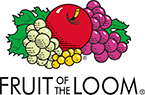 Profilklær Fruit of the Loom Logo