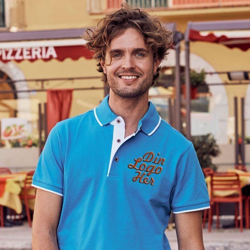 Profilklær Clique Polo Shirt med egen Logo Brodering