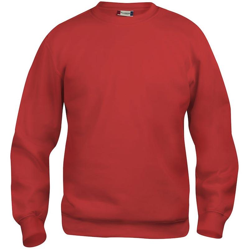 Roundneck Sweatshirt Promowear Logo Embroidery