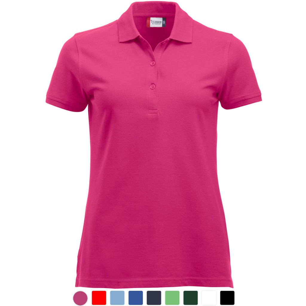Promowear Polo Shirt Personalised Clothing Logo Embroidery