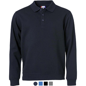 Polo Sweater Promowear Logo Embroidery