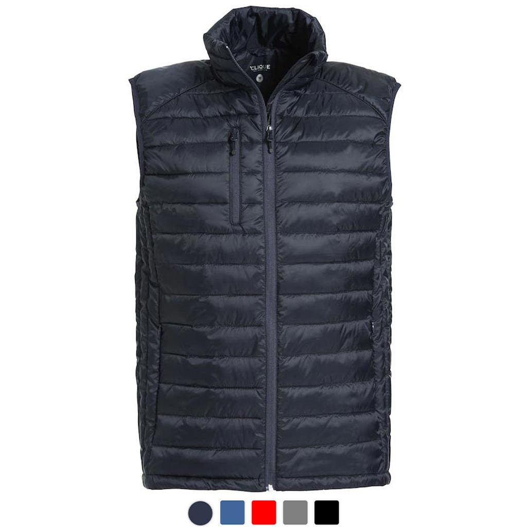 Promowear Vest with Logo Embroidery