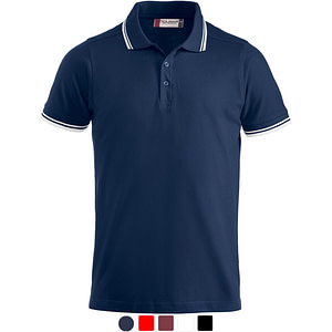 Polo Shirt Promowear Logo Embroidery