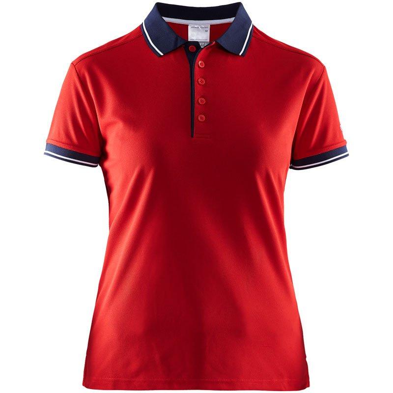 Craft Polo Shirt Sportswear Promowear Logo Embroidery