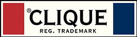 Profilkläder Clique Logga