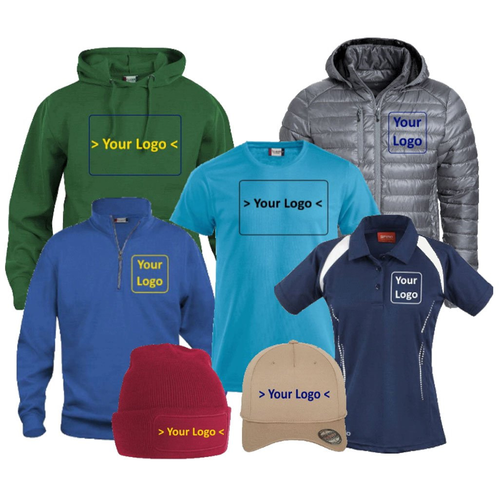 Promowear Personalised Clothing Logo Embroidery