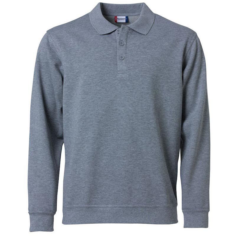 Polo Sweater Promowear Logo Embroidery